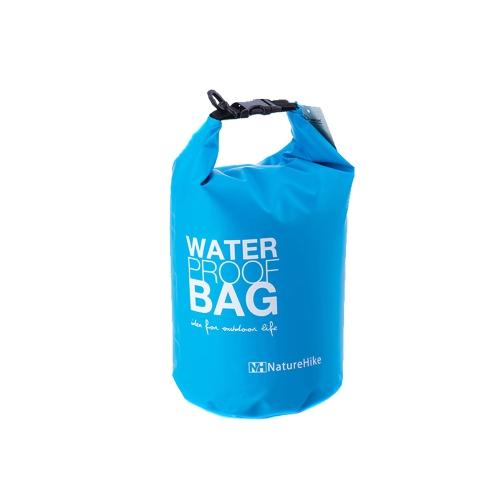 2 Л в небольших ультралайт открытый путешествия рафтинг водонепроницаемый мешок сухой плавательный синий