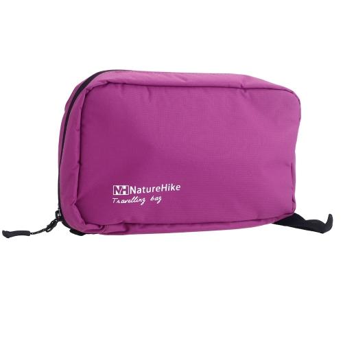 Multifunktionale Reise Waschtasche Lagerpflege Kosmetiktasche Wasserdichte Outdoor tragbare ultraleichte große Kapazität Rosa