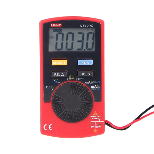 UNI-T UT120C Pocket Size Type Mini Digital Multimeters