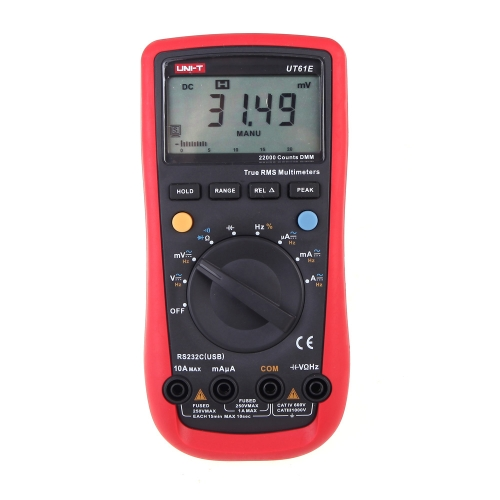 UNI-T UT61E Moderne Digital Multimeter