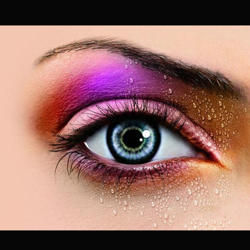 Professional 3 Farbe Matte nackt Makeup Eyeshadow Palette Lidschatten mit Spiegel und Double beendet Pinsel 4#