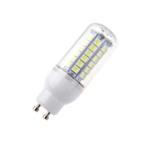GU10 7W 5050 SMD 48 LED bombilla lámpara ahorro de 360 grados del maíz blanco 220-240V