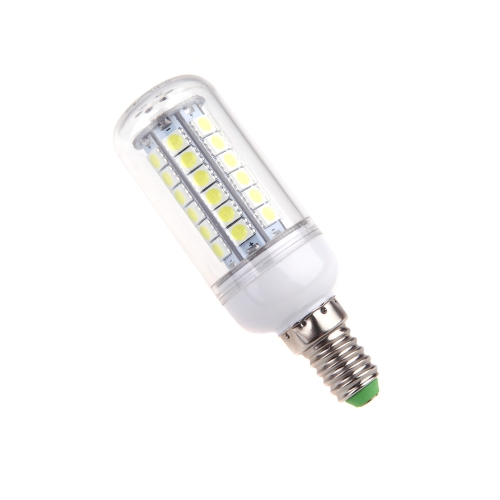 E14 7W 5050 SMD 48 LED Corn Light Bulb Lamp Energy Saving 360 Degree White 220-240V