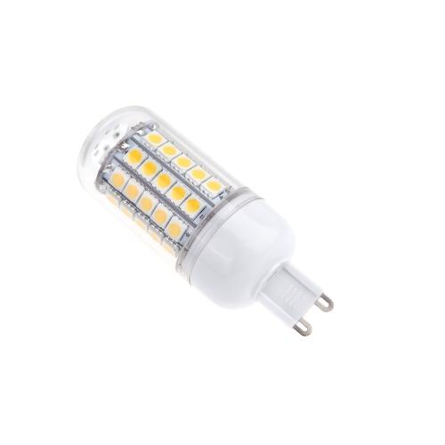 G9 9W 5050 SMD 59 LED Corn Light Bulb Lamp Energy Saving 360 Degree Warm White 220-240V