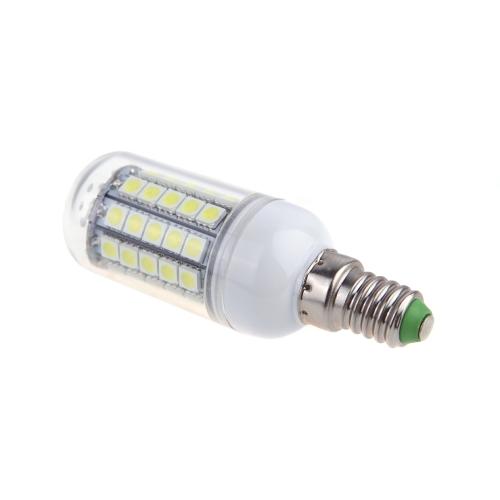 E14 9W 5050 SMD 59 LED bombilla lámpara ahorro de 360 grados del maíz blanco 220-240V
