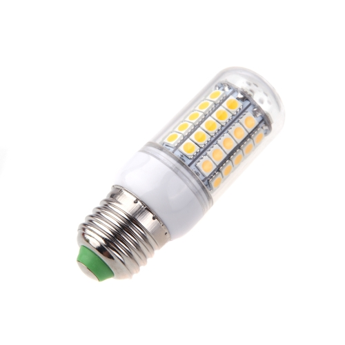 E27 9W 5050 SMD 59 LED Corn Light Bulb Lamp Energy Saving 360 Degree Warm White 220-240V