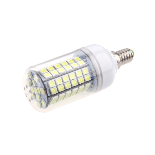 E14 15W 5050 SMD 96 LED Corn Light Bulb Lamp Energy Saving 360 Degree White 220-240V