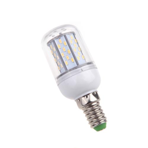 E14 5W 3014 SMD 78 LED Corn Light Bulb Lamp Energy Saving 360 Degree Warm White 85-265V