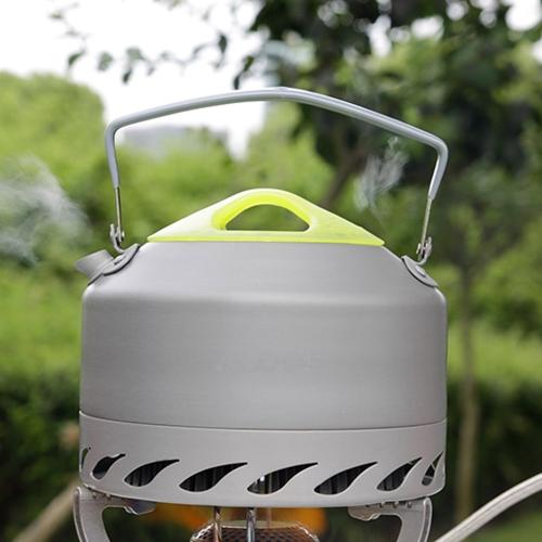 ALOCS CW-K07 портативный оксида алюминия открытый кемпинг горшок чайника Чайник 0,9 Л