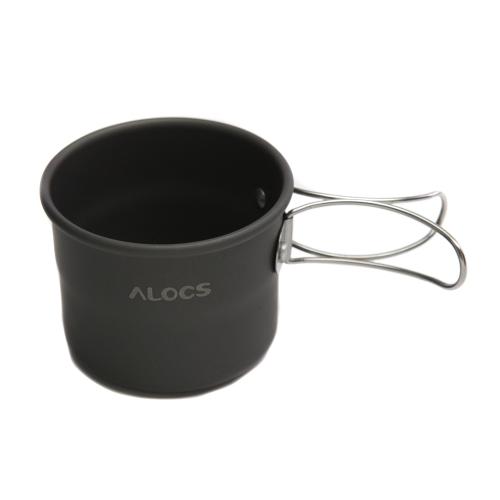ALOCS TW-402-портативный оксида алюминия открытый кемпинг Кубок складные ручки 150 мл
