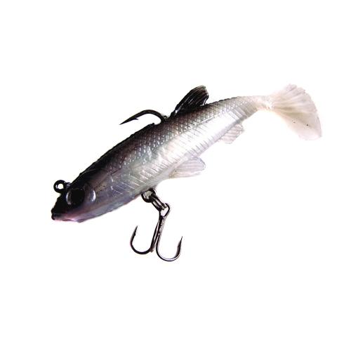 5pcs 8,5 см 14g мягкие приманки свинца голова рыбы приманки бас рыболовные снасти резкое крюк T хвост