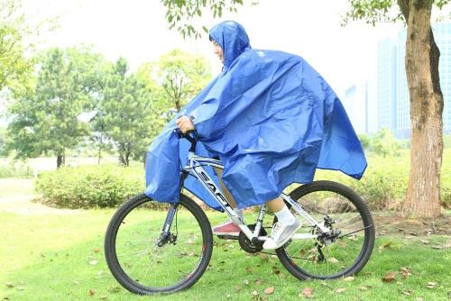 Открытый путешествия оборудования многоцелевой альпинизма скалолазание Велоспорт плащи дождь Обложка пончо влагоустойчивые кемпинг палатка коврик голубой
