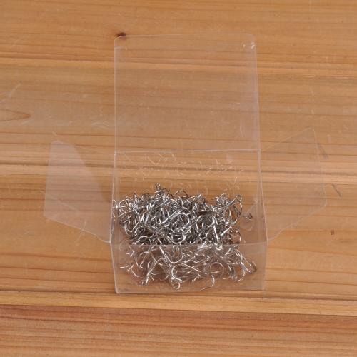 100 piezas # 8 gancho alto carbono acero ganchos agudos pesca pesca