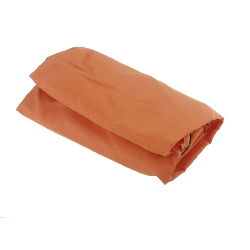 Ultra-light Single Polyester Pongee Healthy Sleeping Bag Liner Portable Camping Travel Sleeping Bag Orange