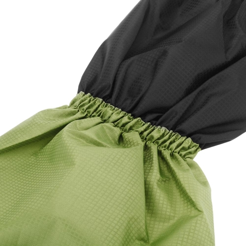 Image For Outdoor Waterproof Windproof Gaiters Leg Protection Guard Skiing Hiking Climbing Green