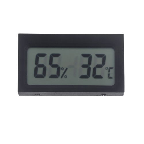 Mini Portable Digital LCD Indoor Humidity Thermometer Hygrometer