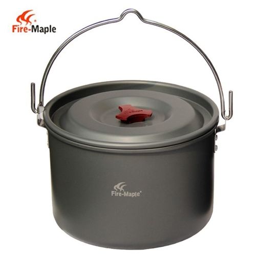 5L colgante al aire libre pote aluminio para 4-5 personas cocina Camping fiesta hoguera