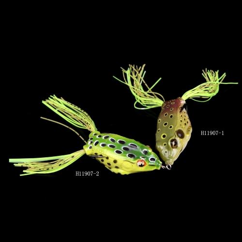 13g-6cm Fishing Lure Lifelike Frog Hollow Body Soft Bait Fishing Tackle