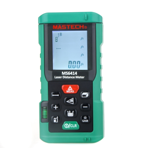 オリジナル  MASTECH MS6414  40Mハンドヘルド レーザー距離計/レンジファインダエリアボリュームテスター