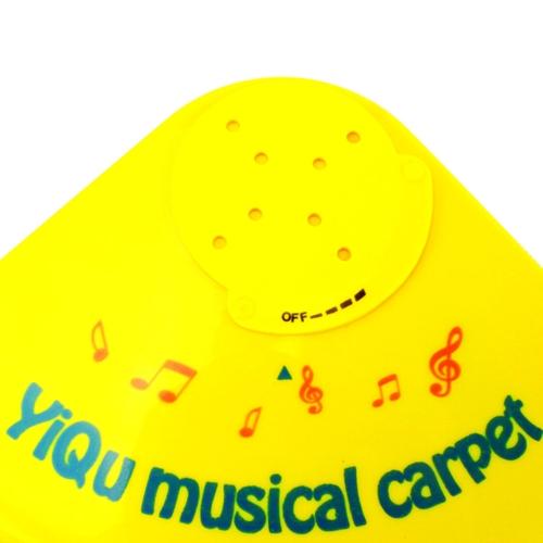 Sonido musical alfombra bebé toque juego Piano niños música cojín estera divertido juguete multicolor 61. 5 * 48 cm