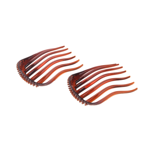 2pcs Bump It Up Volume Inserts Hair Clip for Ponytail Bouffant Styles Hair Comb