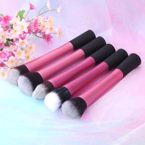5PCS Makeup Brush Set Cosmetic Brush Face Blusher Foundation Tool
