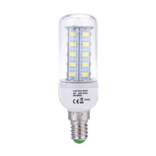 E14 8W 5730 SMD 36 LEDs Corn Light  Lamp Bulb Energy Saving 360 Degree White 220-240V