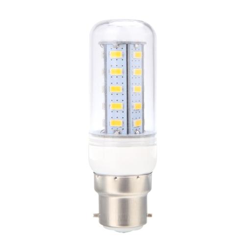 Lixada B22 8W 5730 SMD 36 LEDs Corn Light  Lamp Bulb Energy Saving 360 Degree Warm White 220-240V