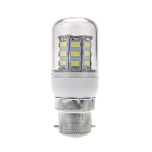 B22 6W 5730 SMD 30 LEDs Corn Light Lamp Bulb Energy Saving 360 Degree White 220-240V
