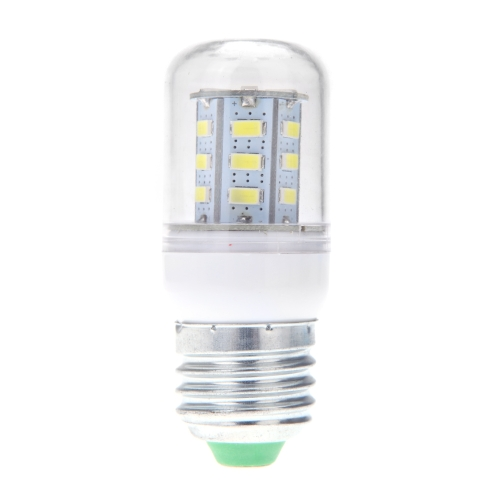 E27 5W 5730 SMD 24 LEDs Corn Light Lamp Bulb Energy Saving 360 Degree White 220-240V