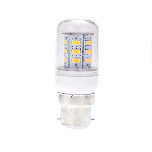 B22 5W 5730 SMD 24 LED maíz luz lámpara bombilla ahorro 360 grados cálido blanco 220-240V