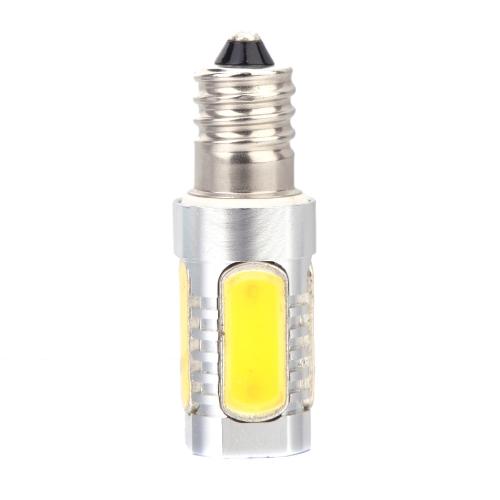 Aluminum E14 5W COB LED Light Bulb Lamp 360 Degree Warm White 96-265V