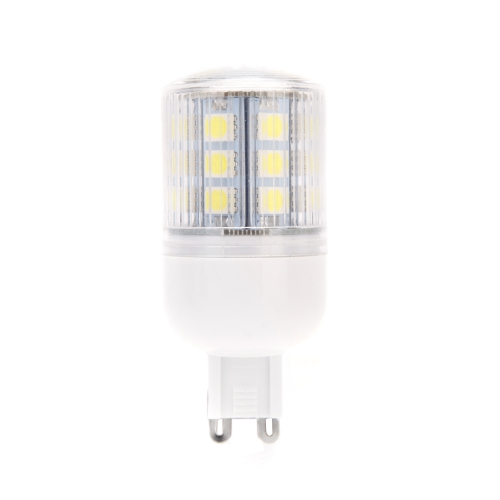 G9 4.5W 5050 SMD 24 LEDs Corn Light Lamp Bulb Energy Saving 360 Degree Stripe Cover White 220-240V