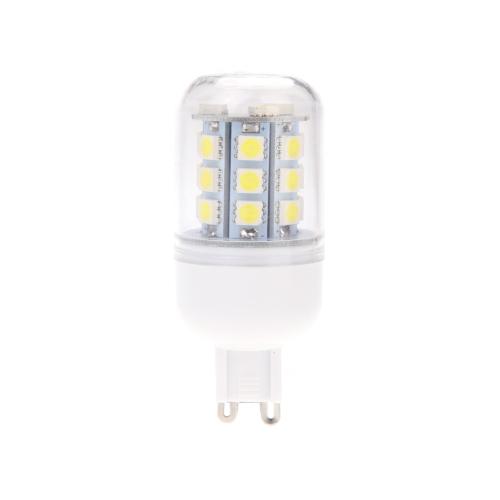 G9 4.5W 5050 SMD 24 LED maíz luz lámpara bombilla ahorro 360 grados blanco 220-240V