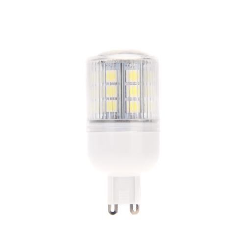 G9 5.5W 5050 SMD 27 LEDs Corn Light Lamp Bulb Energy Saving 360 Degree Stripe Cover White 220-240V