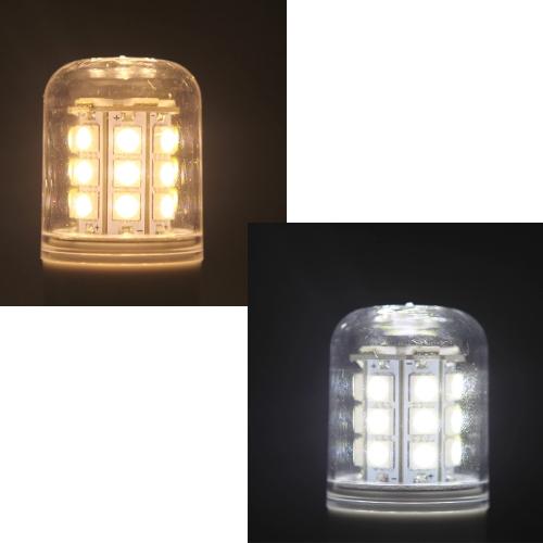 G9 5.5W 5050 SMD 27 LEDs Corn Light Lamp Bulb Energy Saving 360 Degree White 220-240V