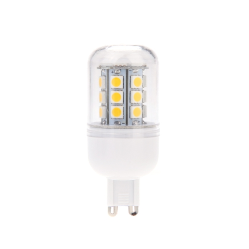 G9 5.5W 5050 SMD 27 LEDs Corn Light Lamp Bulb Energy Saving 360 Degree Warm White 220-240V