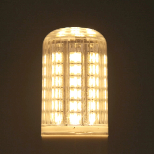G9 10W 5050 SMD 48 LEDs Corn Light Lamp Bulb Energy Saving 360 Degree Stripe Cover Warm White 220-240V