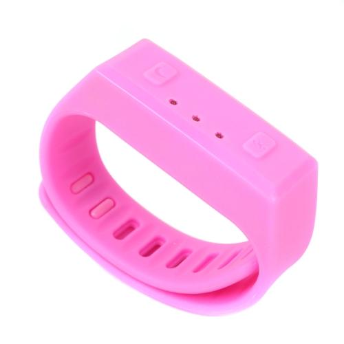 Smart Wireless Bluetooth N.NORDIC 4.0 gesund Sport Armband für Android 4.3 oder über & für Apple für iPhone 6 für 6Plus für 5 für 5 s für 4 für 4 s für iPad Telefon Computer leicht rosa