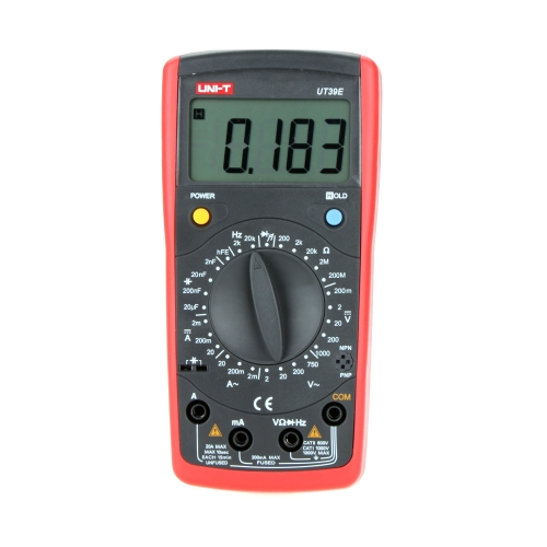 UNI-T UT39E 19999 Count Data Hold General DMM Digital Multimeters W/ Frequency Test