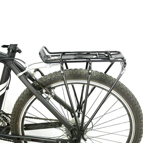 Ciclismo MTB bicicleta porta traseira bagageiro prateleira suporte liga de alumínio para moto de freio a disco/V-freio