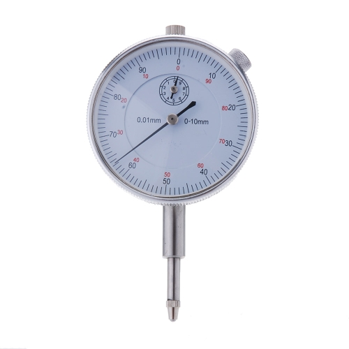 Precision Tool 0.01mm Accuracy Measurement Instrument Round Dial Indicator Gauge Vertical Contact