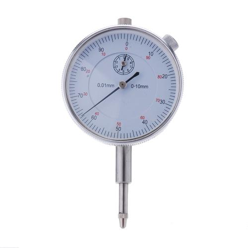 Прецизионный инструмент 0,01 мм точность измерения инструмента Круглые Dial индикатор датчика вертикальных контакт