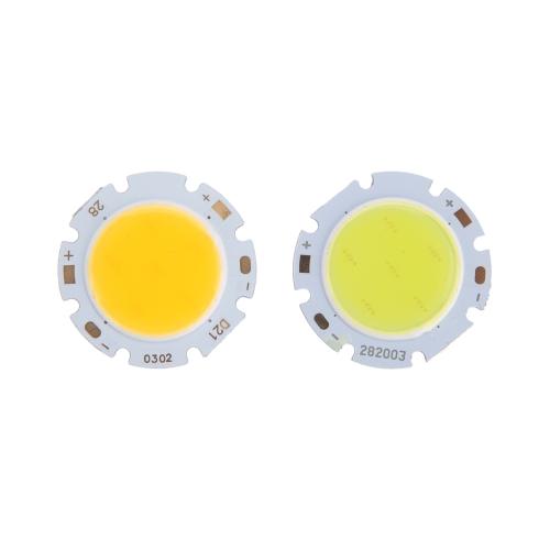 3W LED Birne Runde COB super helle LED Licht LED Chip Licht Lampe Weiß DC 9-12V