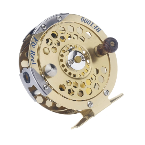 Full Metal Fly Fish mulinello ghiaccio ex peschereccio ruota BF1000A 0.5 mm/500 m 1:1