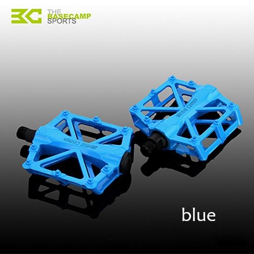 Rodamiento de bolitas de BaseCamp MTB Pedal de bicicleta de carretera bicicleta antideslizante ultra ligera de aluminio aleación