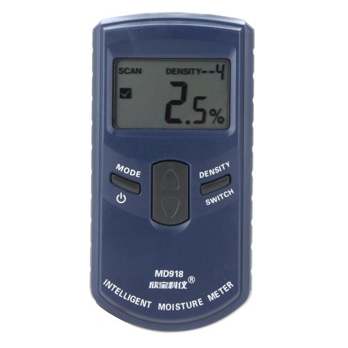 SANPO MD918 Inductive Intelligent Wood Tree Timber Moisture Meter Measuring Range: 4%~80% Resolution: 0.5%
