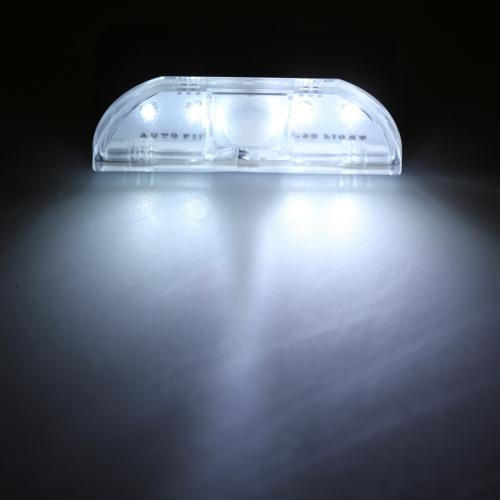4 LED Auto PIR Schlüsselloch Motion Sensor Detektor Licht Lampe