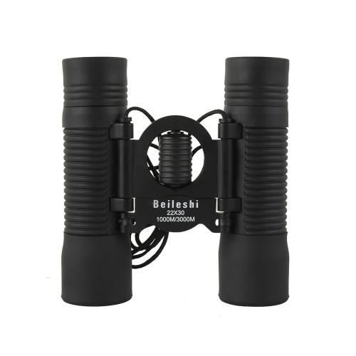 22 x 30 96/1000 m ミニ スポーツ光学双眼鏡望遠鏡キャンプ ハイキング旅行コンサート狩猟スポッティング スコープ