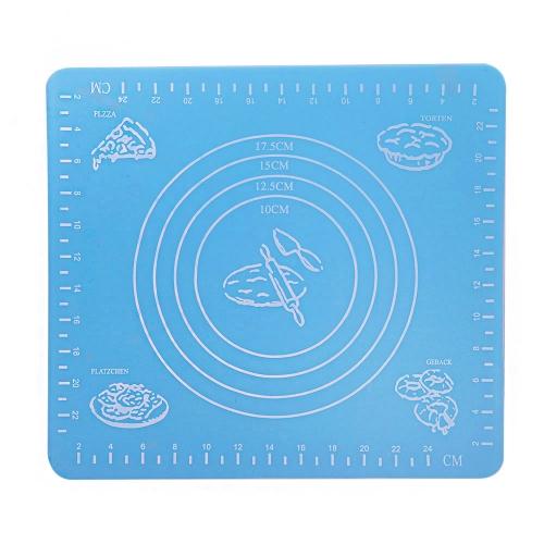 Pad in silicone tappetino quadrato con scala di misura per for Tappetino mouse fai da te
